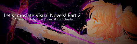 Visual Novel Reader Tutorial
